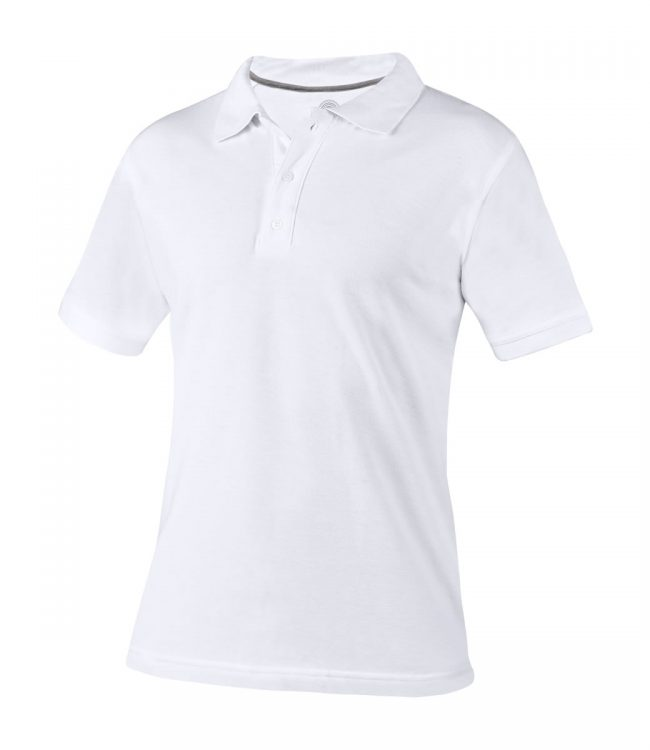 PLAYERA POLO LUTRY COLOR BLANCO TALLA GRANDE