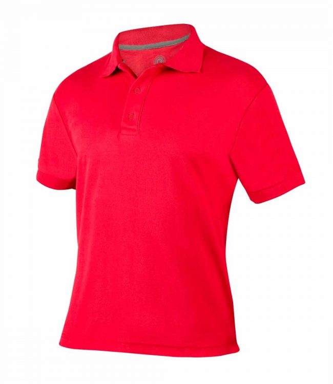 PLAYERA POLO LUTRY COLOR ROJO TALLA GRANDE