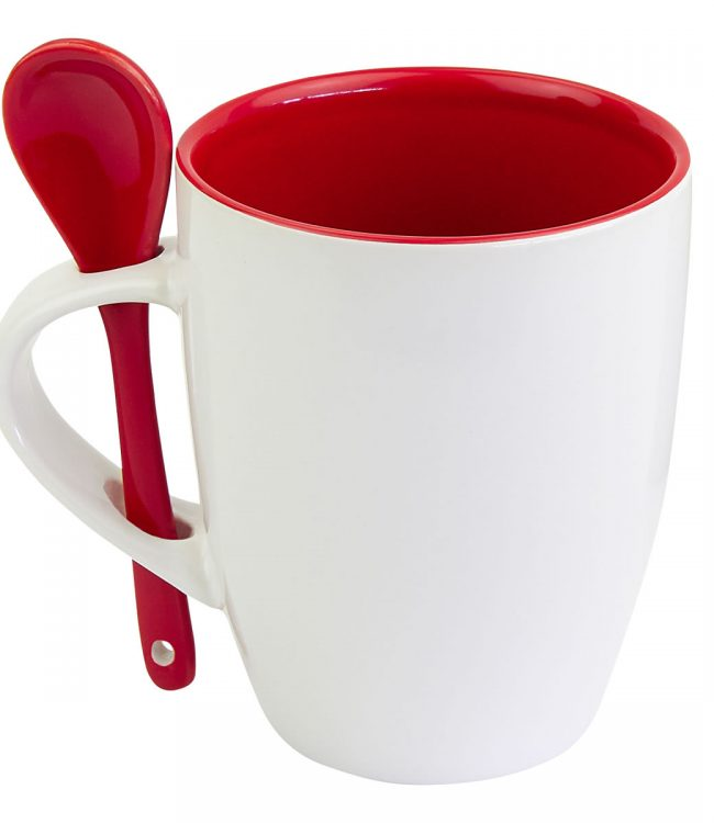 TAZA MOFFY COLOR ROJO